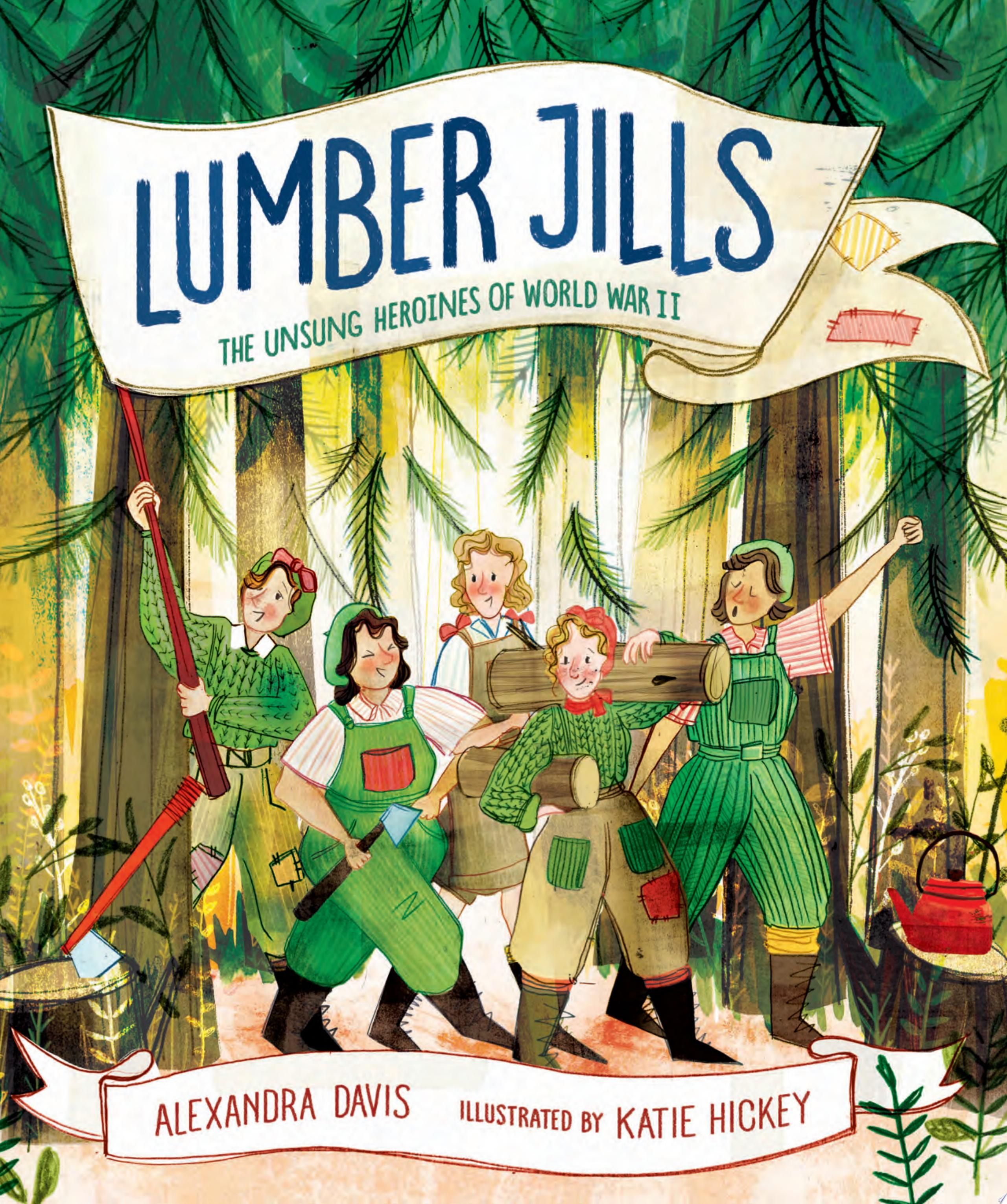 "Image for ""Lumber Jills"""