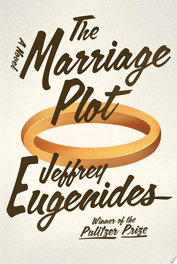 "Image for ""The Marriage Plot"""
