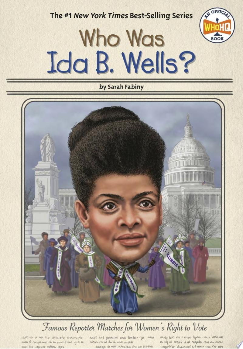 "Image for ""Who Was Ida B. Wells?"""