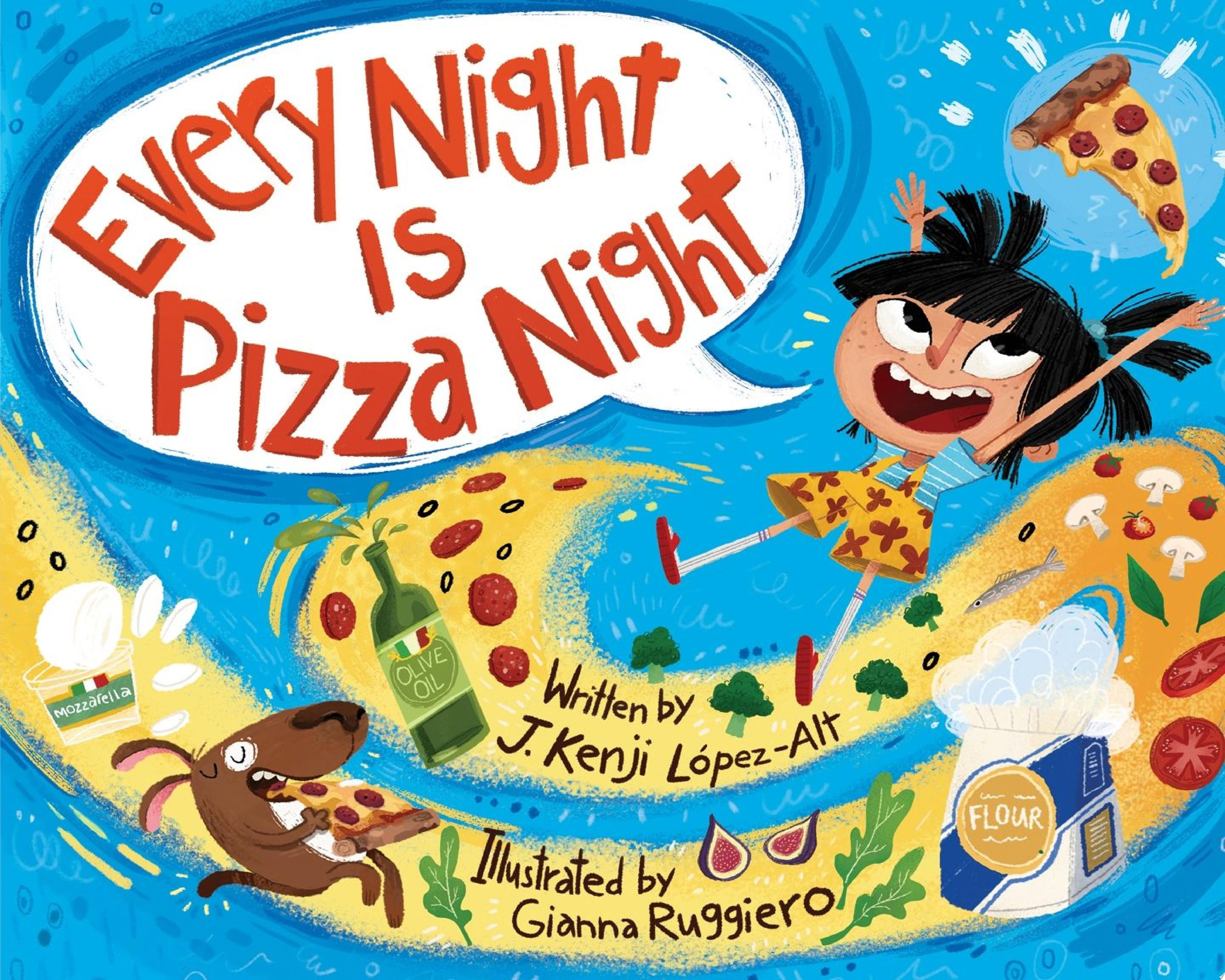 "Image for ""Every Night Is Pizza Night"""