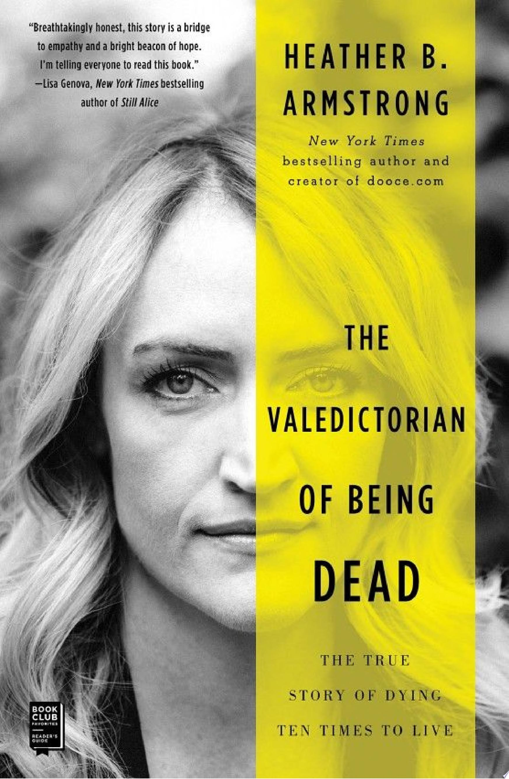 "Image for ""The Valedictorian of Being Dead"""