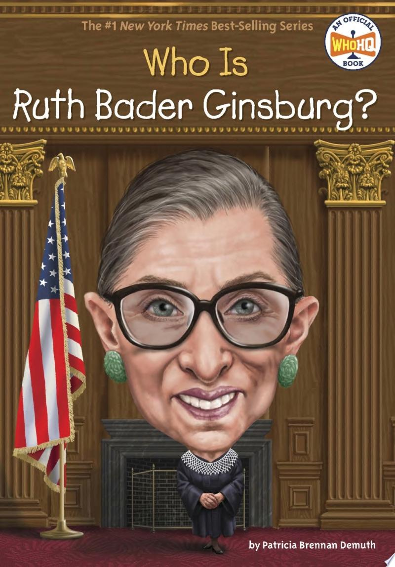 "Image for ""Who Is Ruth Bader Ginsburg?"""