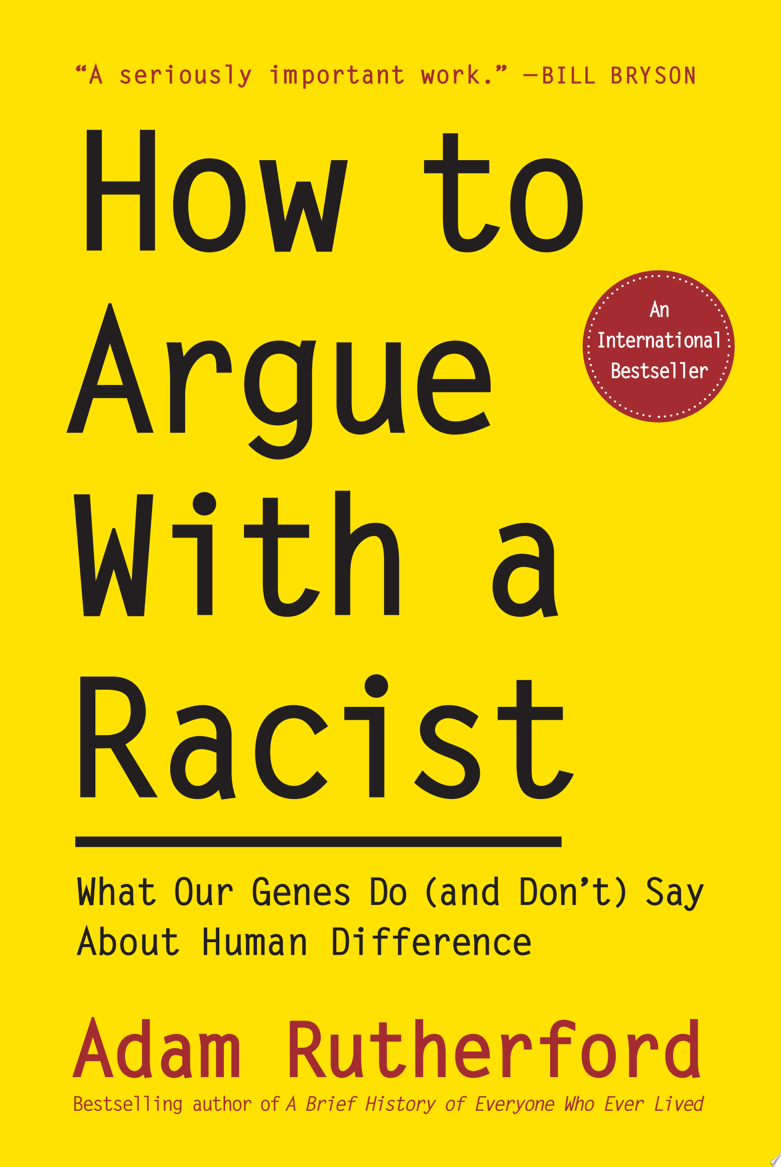 "Image for ""How to Argue With a Racist"""