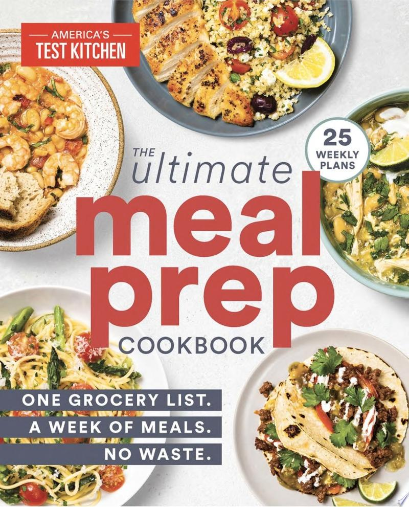 "Image for ""The Ultimate Meal-Prep Cookbook"""