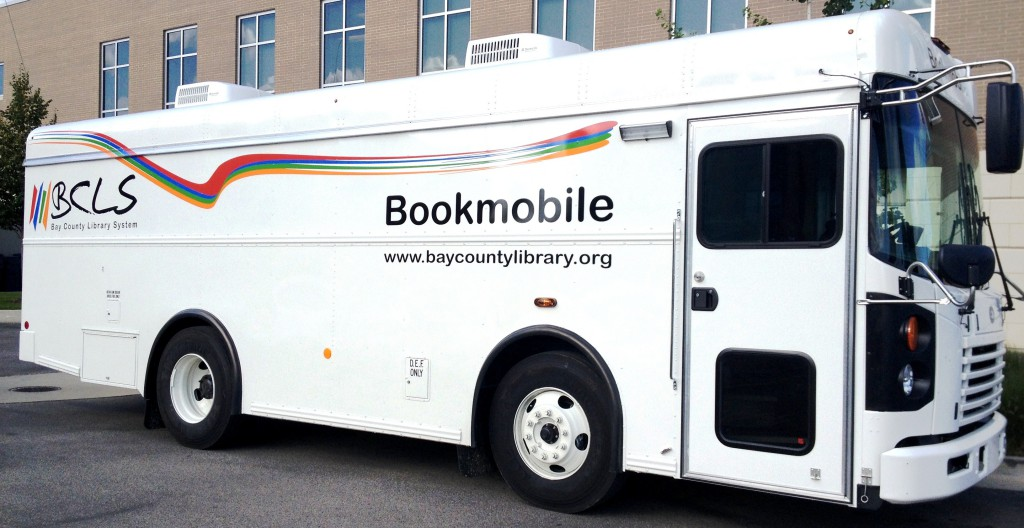 Bookmobile side shot