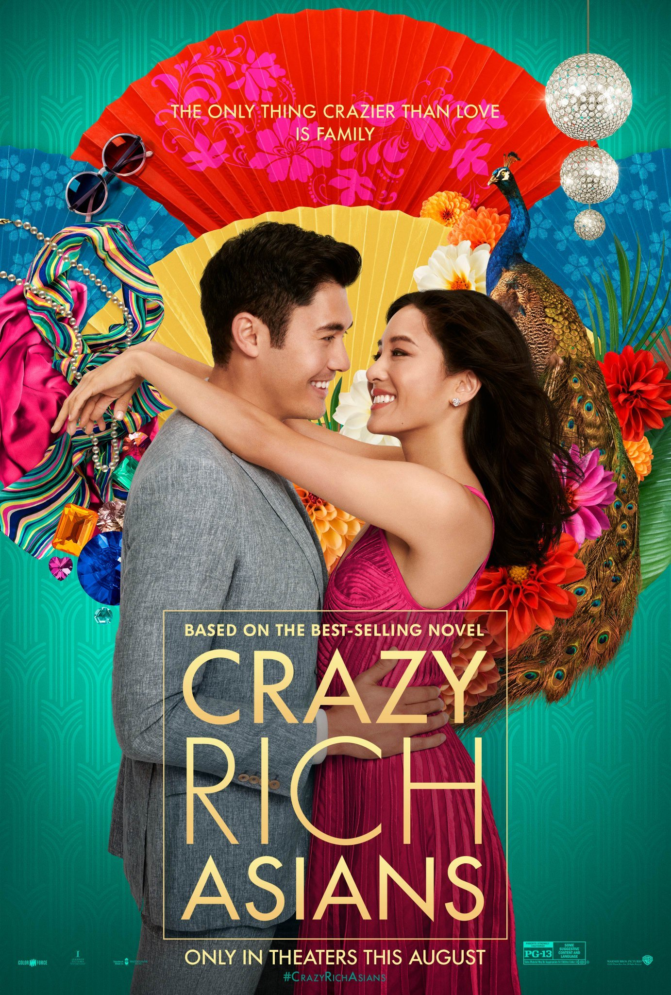 Poster art for movie Crazy Rich Asians