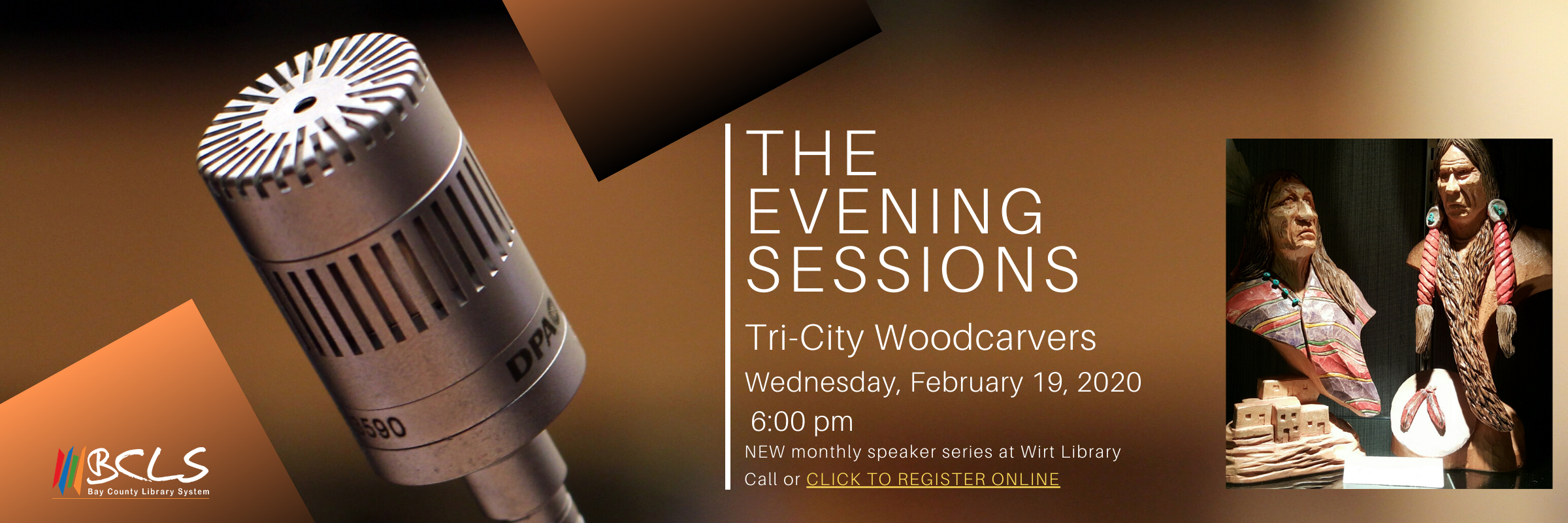 Evening Sessions with Tri-City Woodcarvers