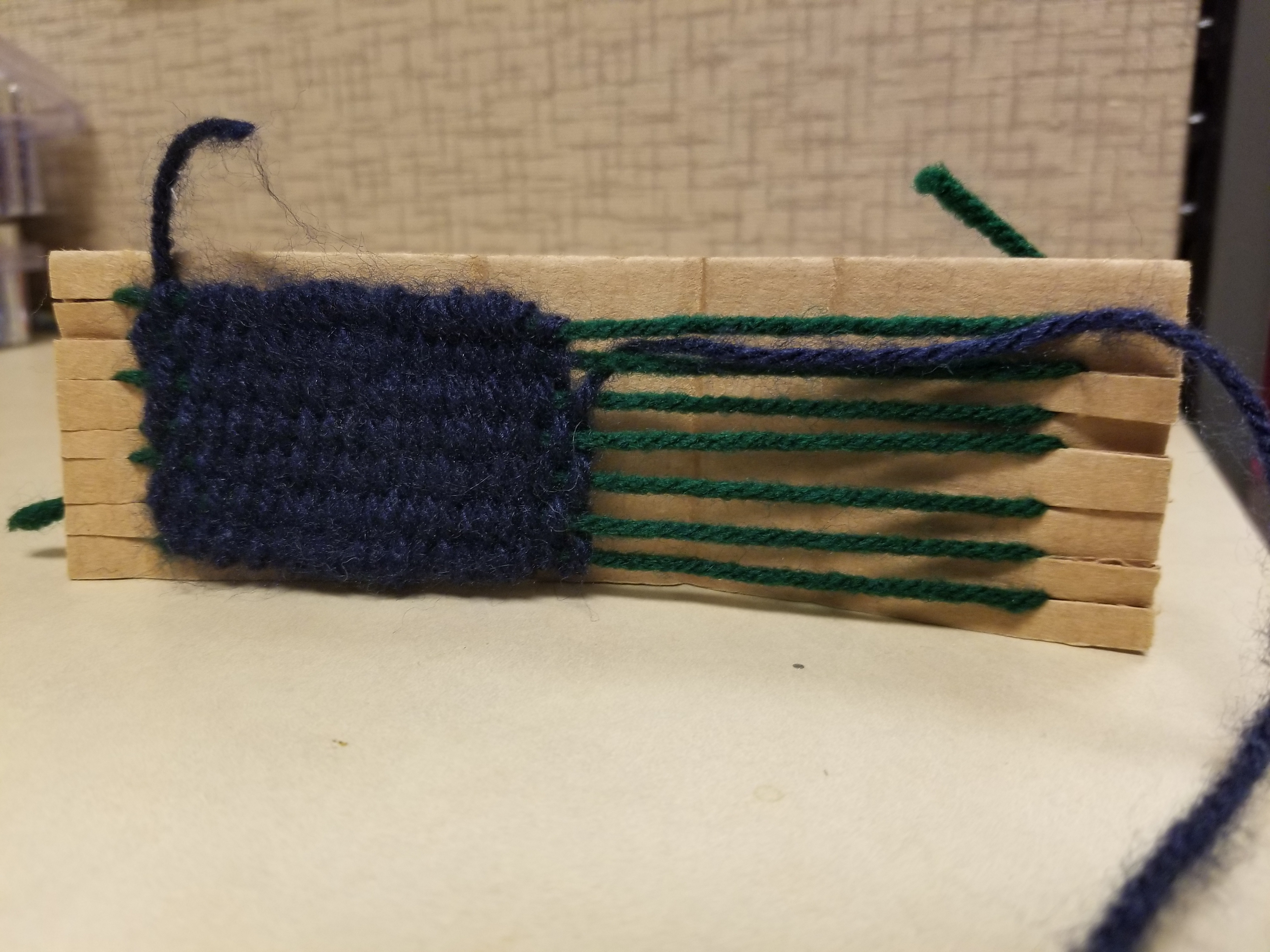 Sample weaving craft