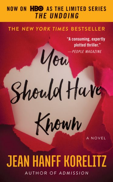 "Image for ""You Should Have Known"""
