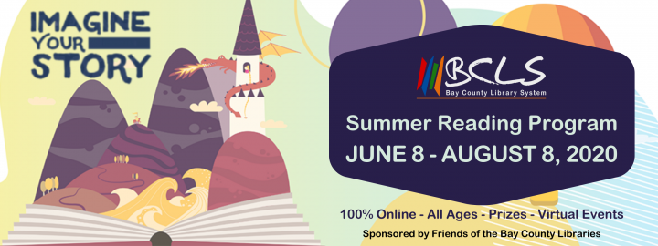Summer Reading Program 2020 Banner