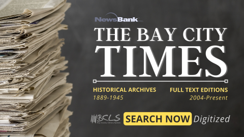 Bay City Times Historic & Current Graphic