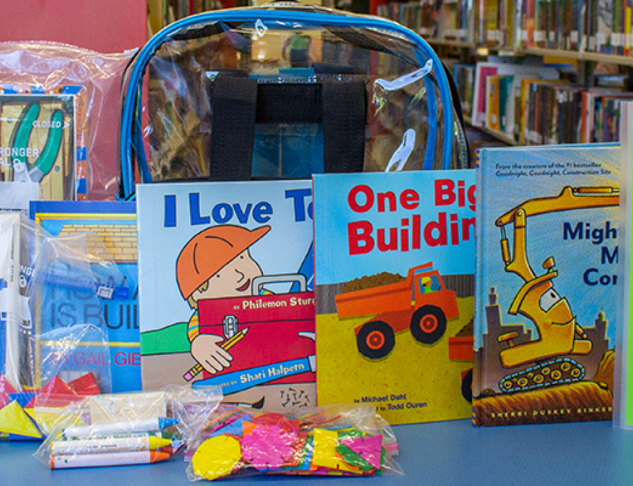 raising readers backpacks
