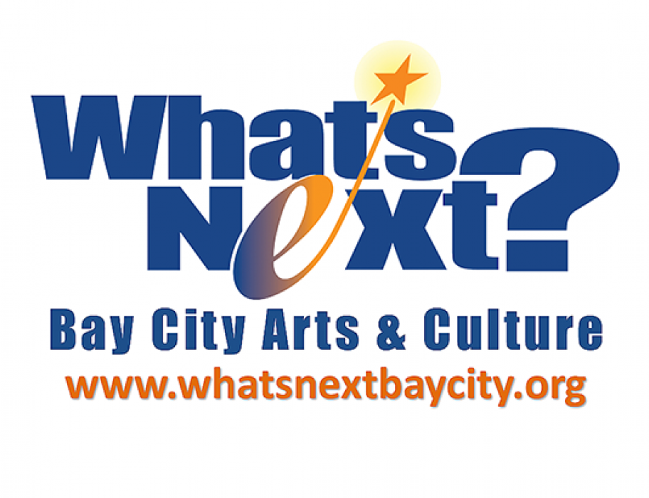 """What's Next? Bay City Arts & Culture"" graphic"